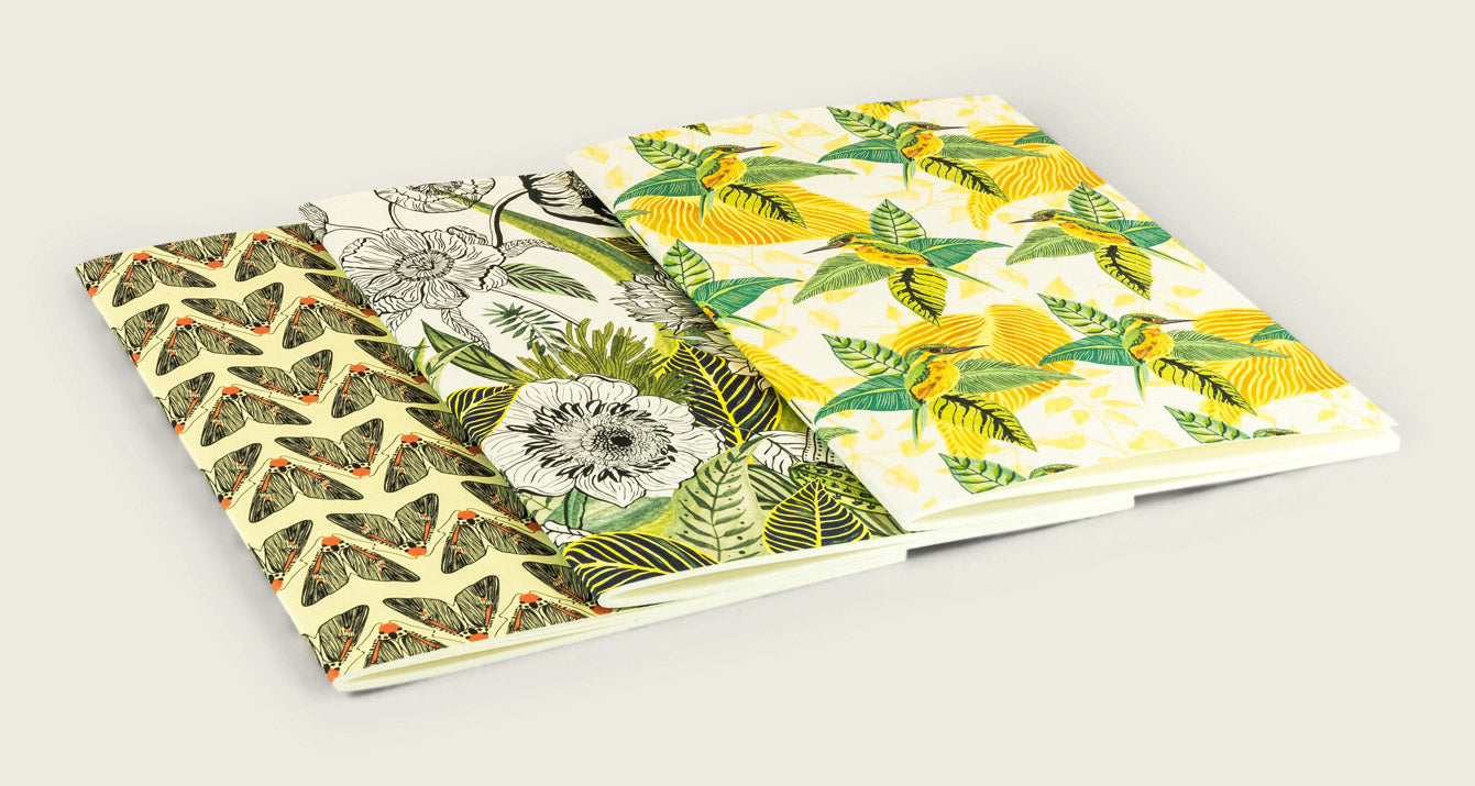 1 x notebook [xl] | Flora by Hayun
