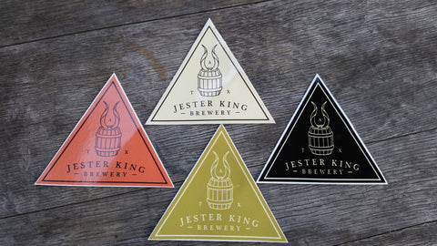 Triangle Stickers - Set of Four