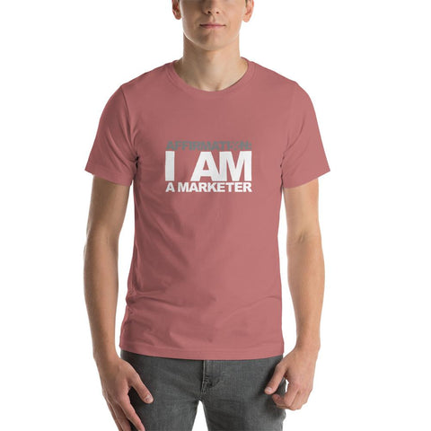 "AFFIRMATION: ""I AM AN MARKETER"""