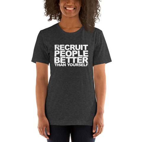 "Image of ""RECRUIT PEOPLE BETTER THAN YOURSELF"""
