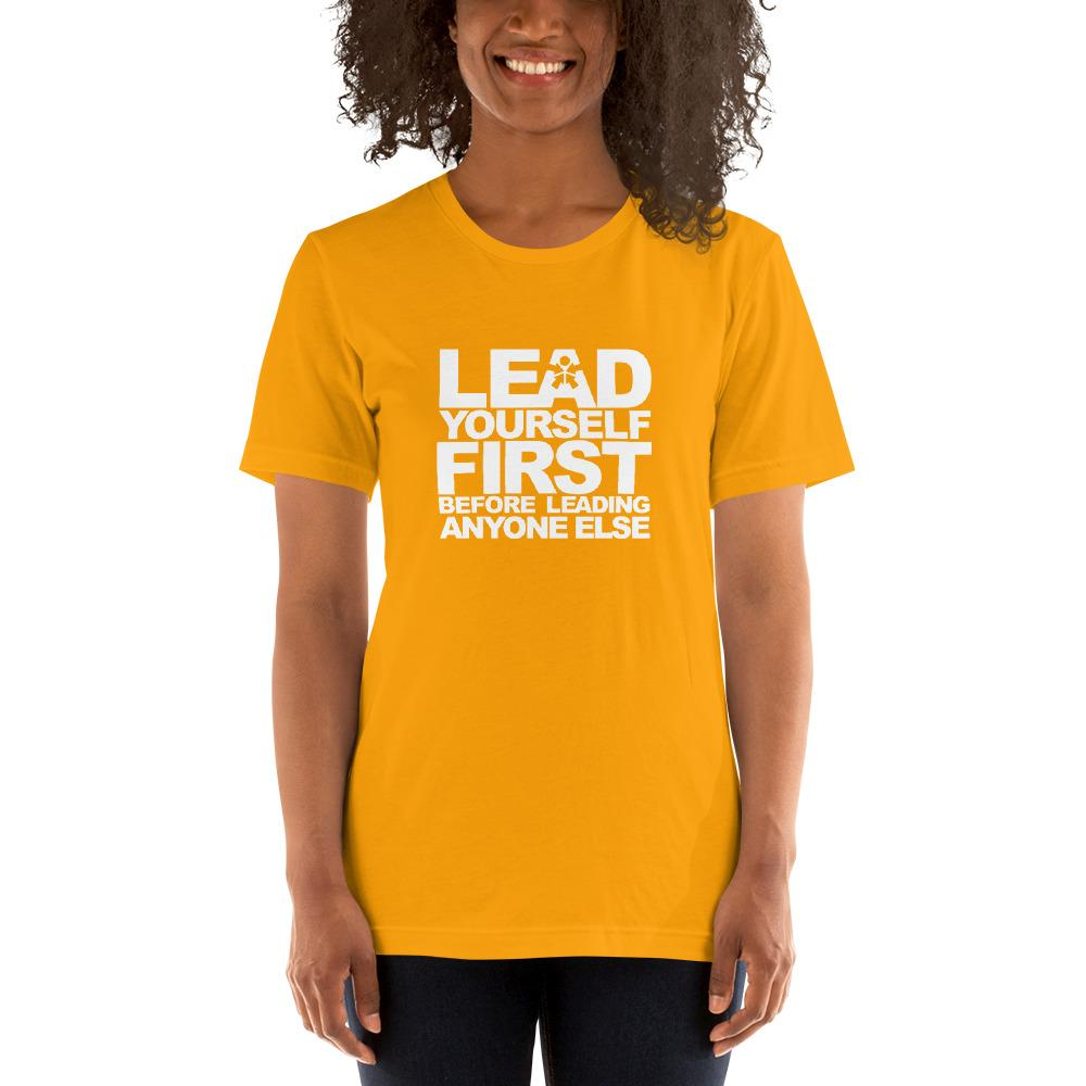 """LEAD YOURSELF FIRST BEFORE TRYING TO LEAD ANYONE ELSE."""