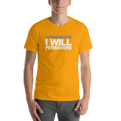 "Image of AFFIRMATION: ""I WILL PERSEVERE"""