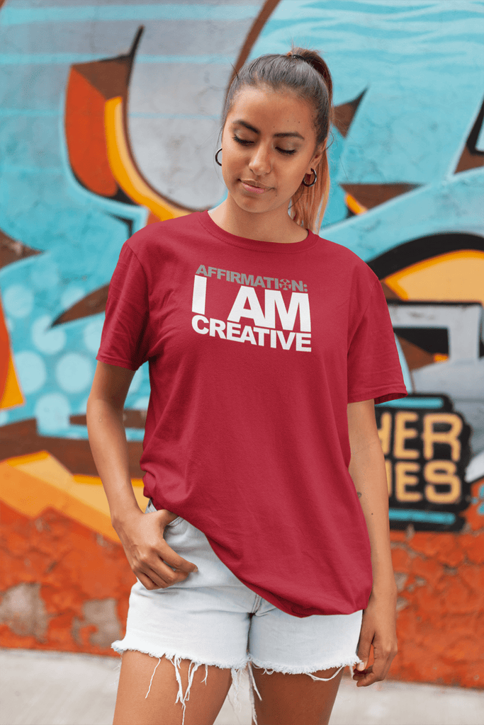 "AFFIRMATION: ""I AM CREATIVE"""