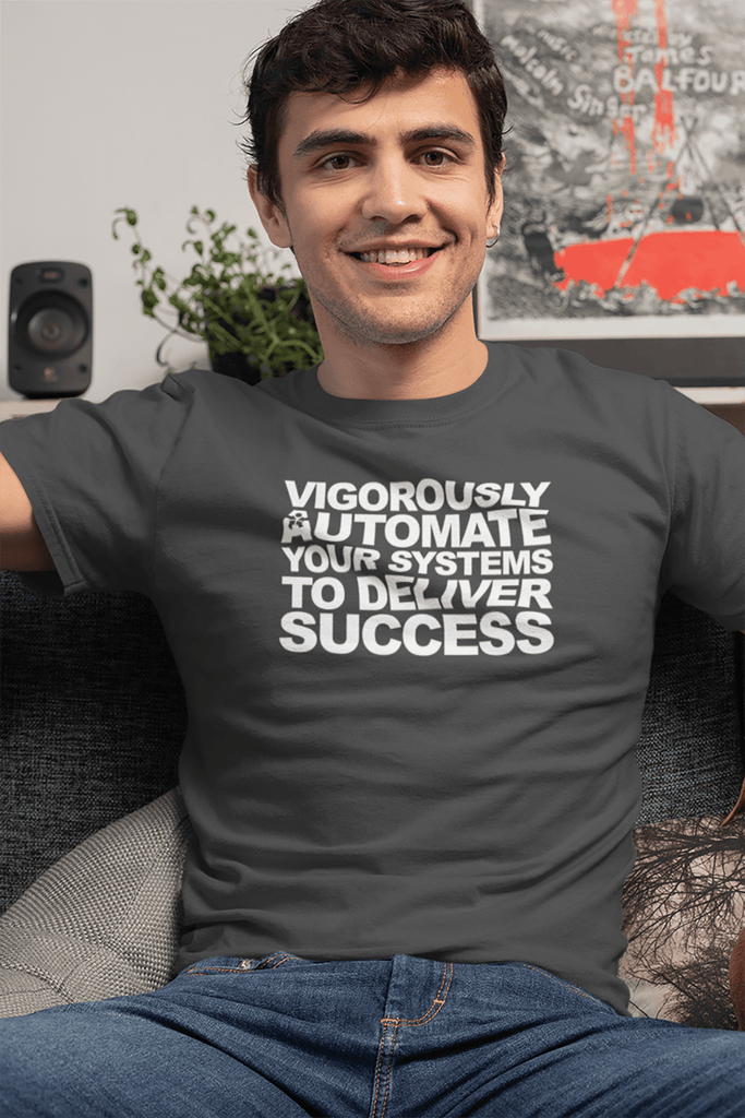 """VIGOROUSLY AUTOMATE YOUR SYSTEMS TO DELIVER SUCCESS"""