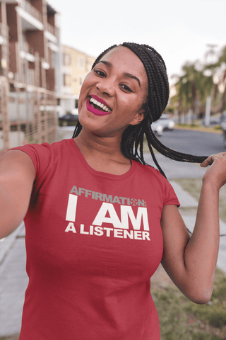 "Image of AFFIRMATION: ""I AM A LISTENER"""