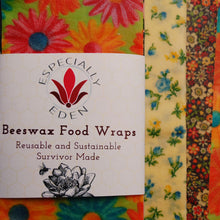 Load image into Gallery viewer, Survivor Made Beeswax Wraps