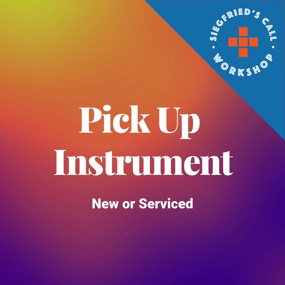 Pick Up Instrument New or Serviced