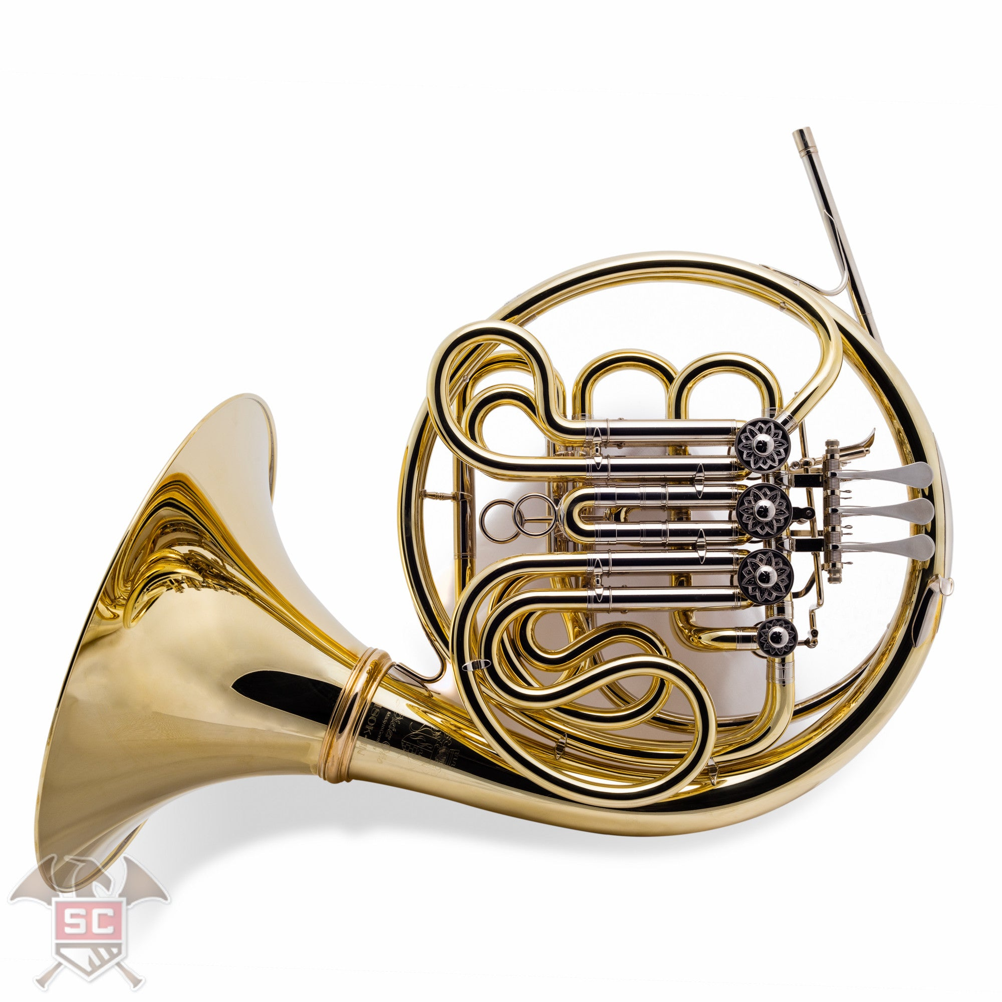 180kal Jn Munich Model Double French Horn Lacquered