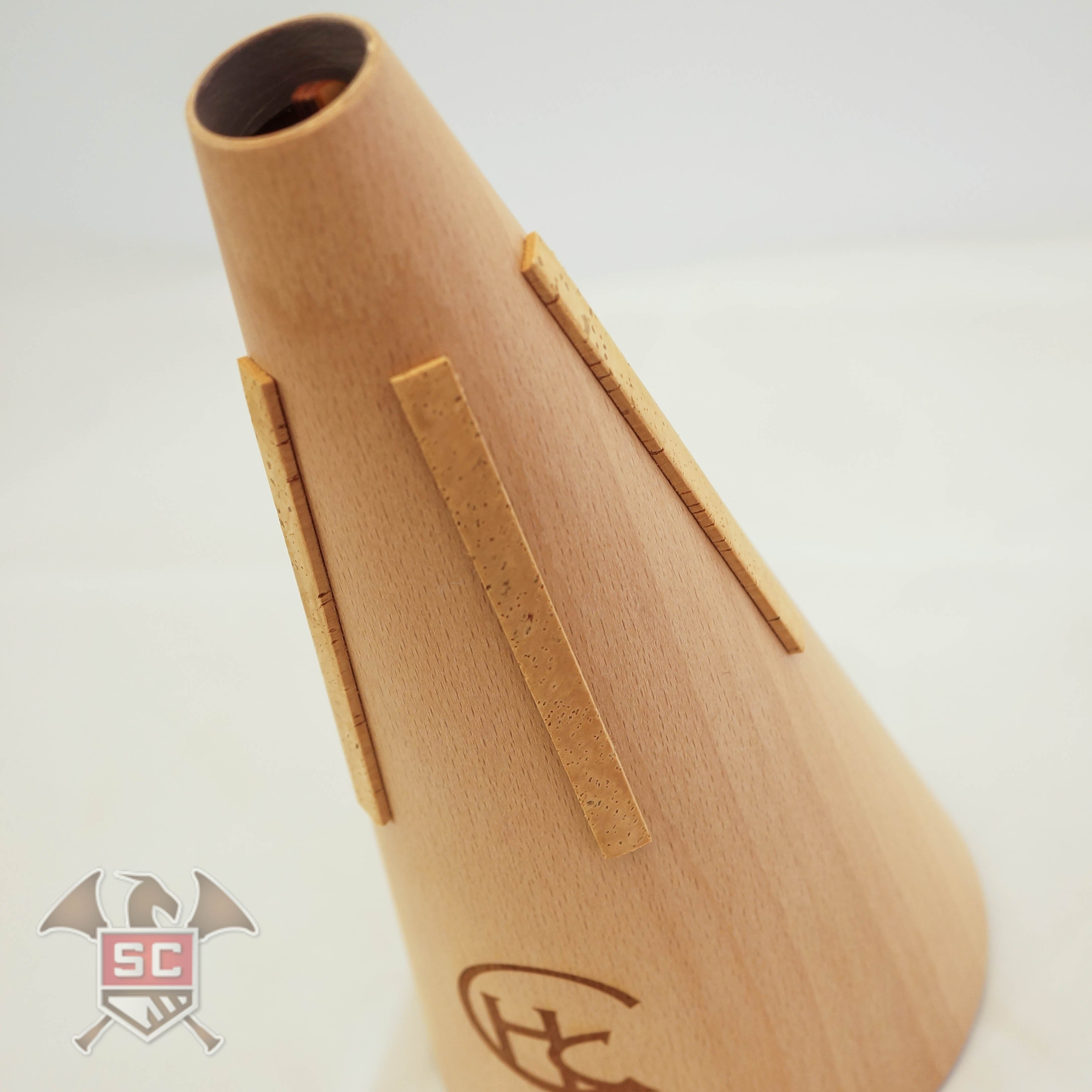 Horn Crafts model Betula tunable wooden french horn straight mute