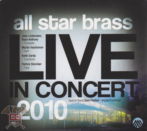 all star brass LIVE IN CONCERT 2010