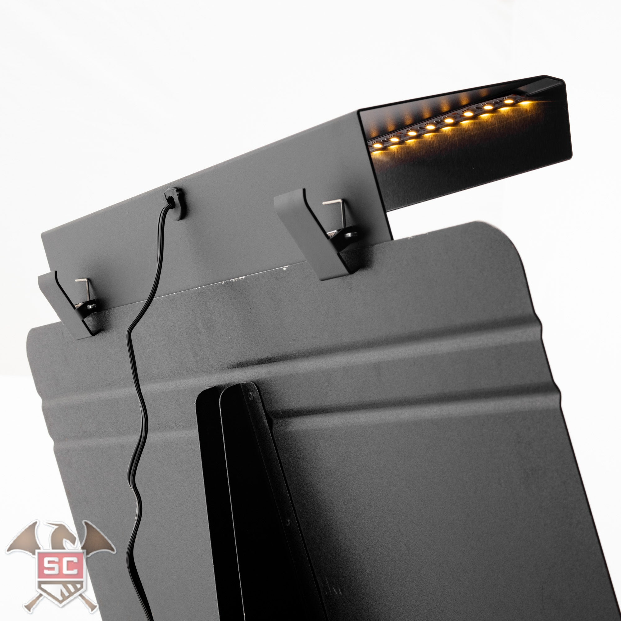 The Aria Diva music stand light.