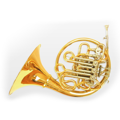 E Schmid F/Bb/High Eb Compensating Triple Horn Lacquered