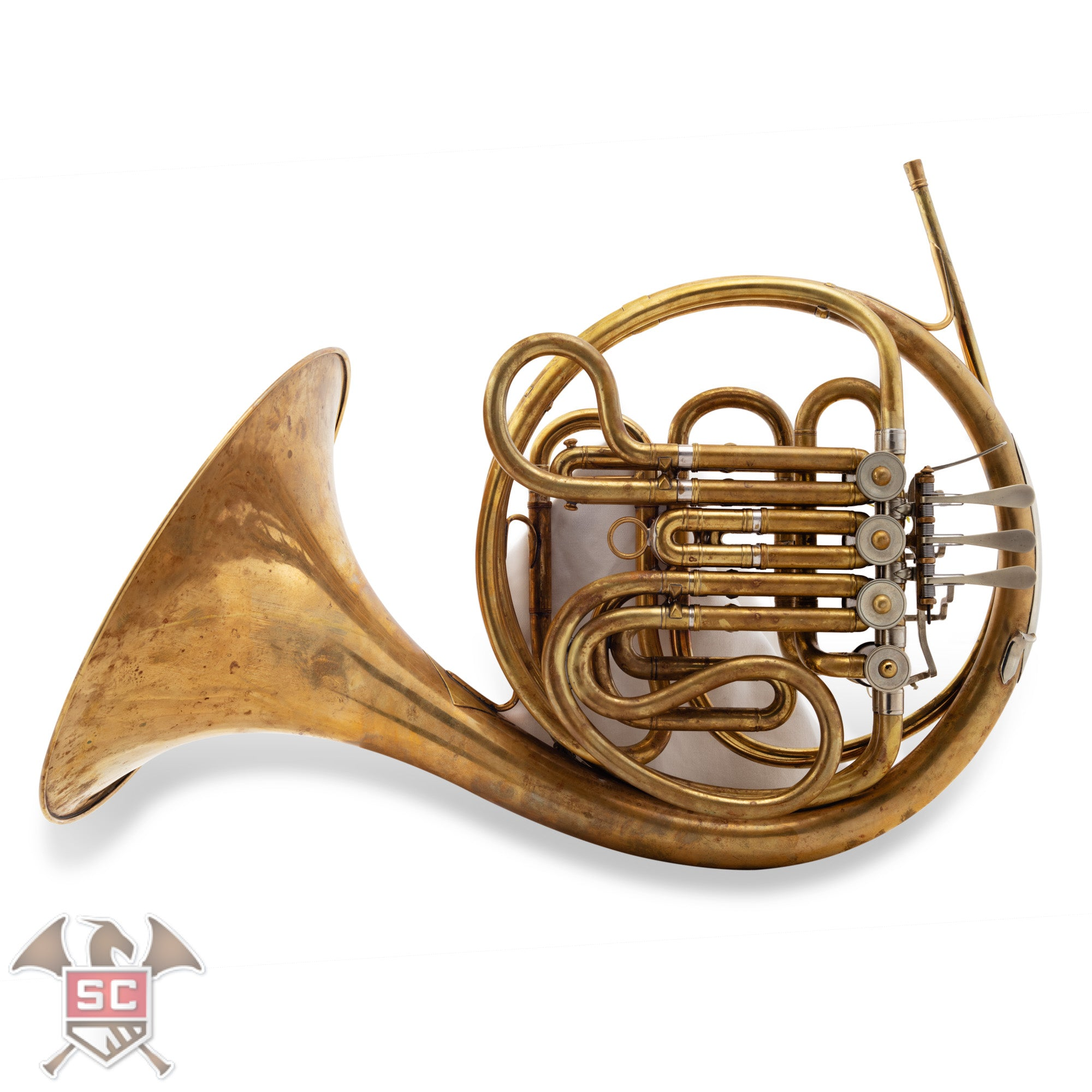 Original Carl Geyer Double French Horn