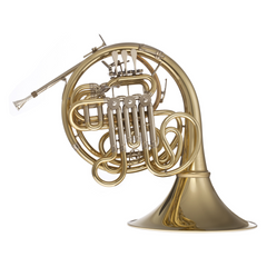 Han Hoyer Model K10 Double French Horn