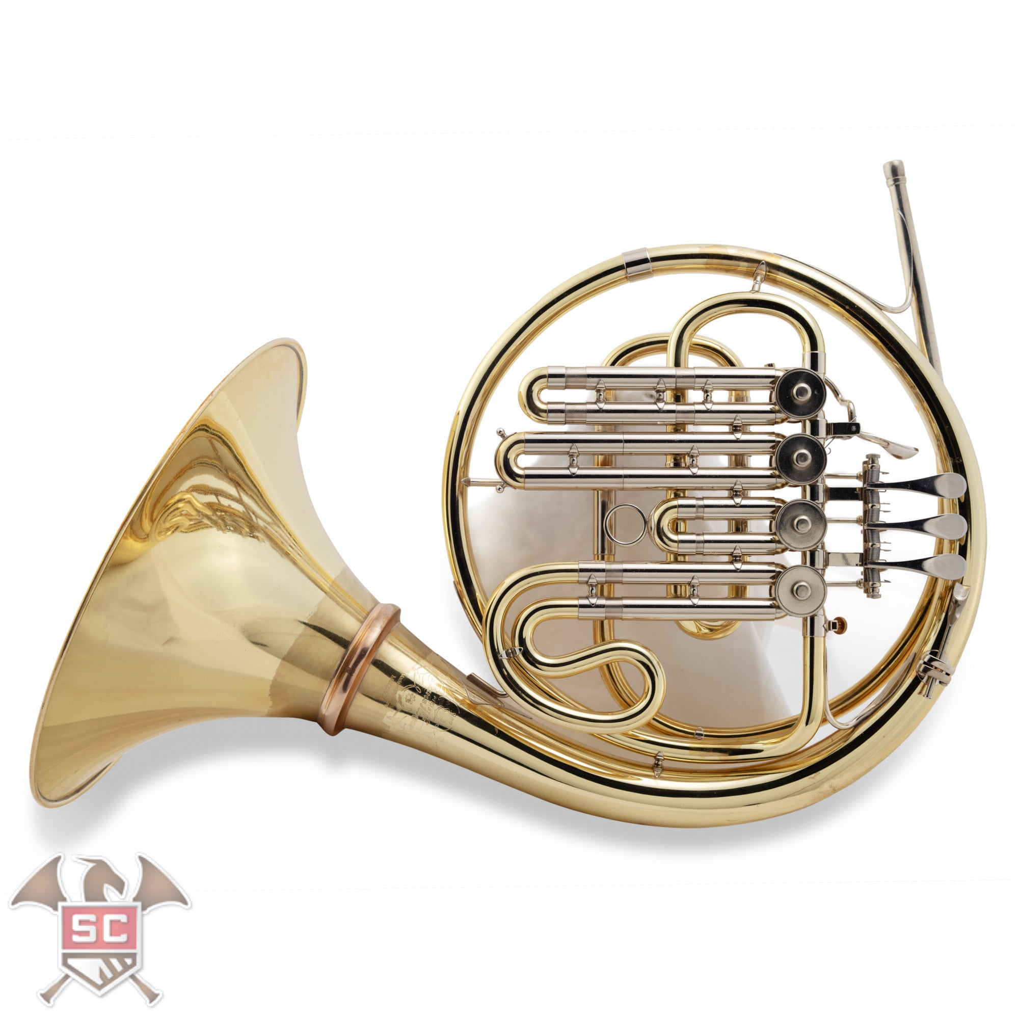 Used Hoyer 704-L Bb single french horn