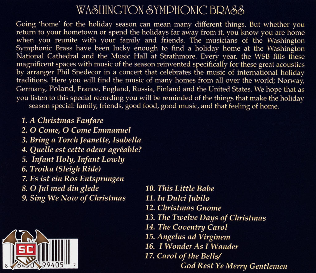Home for the Holidays - Washington Symphonic Brass