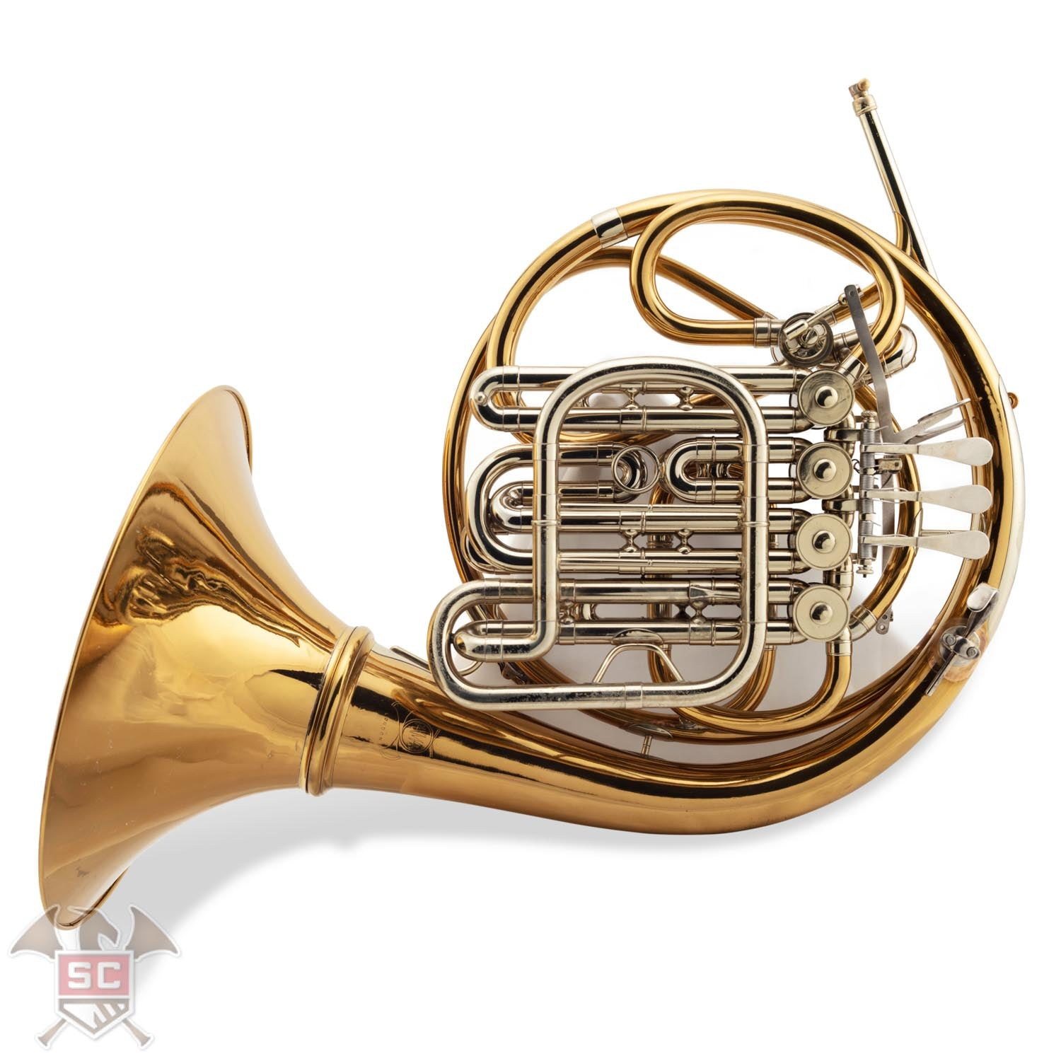 Paxman Model 40ML Descant Horn Serial Number 12714