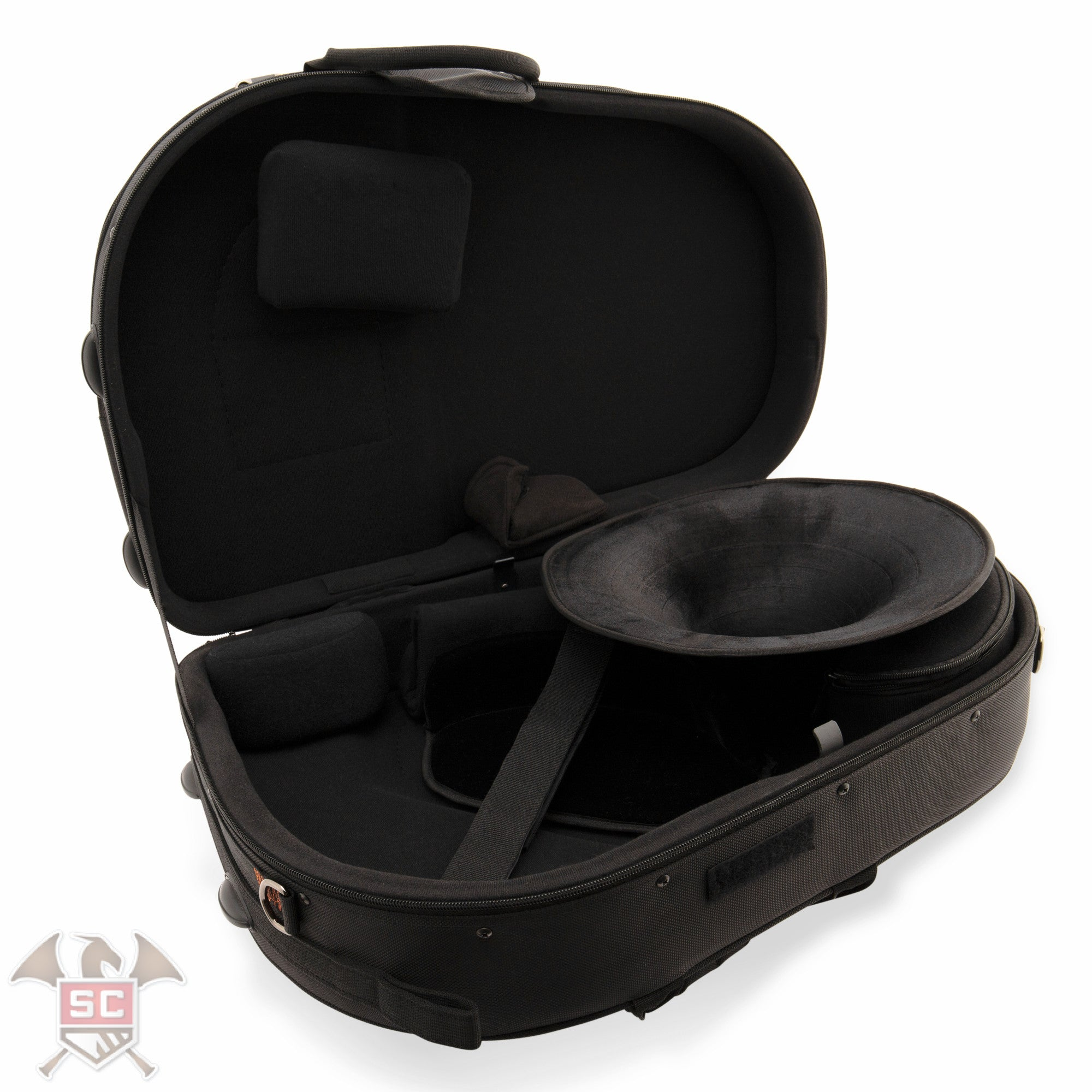 IPAC PB316SBDLX Screw Bell Deluxe French Horn Case