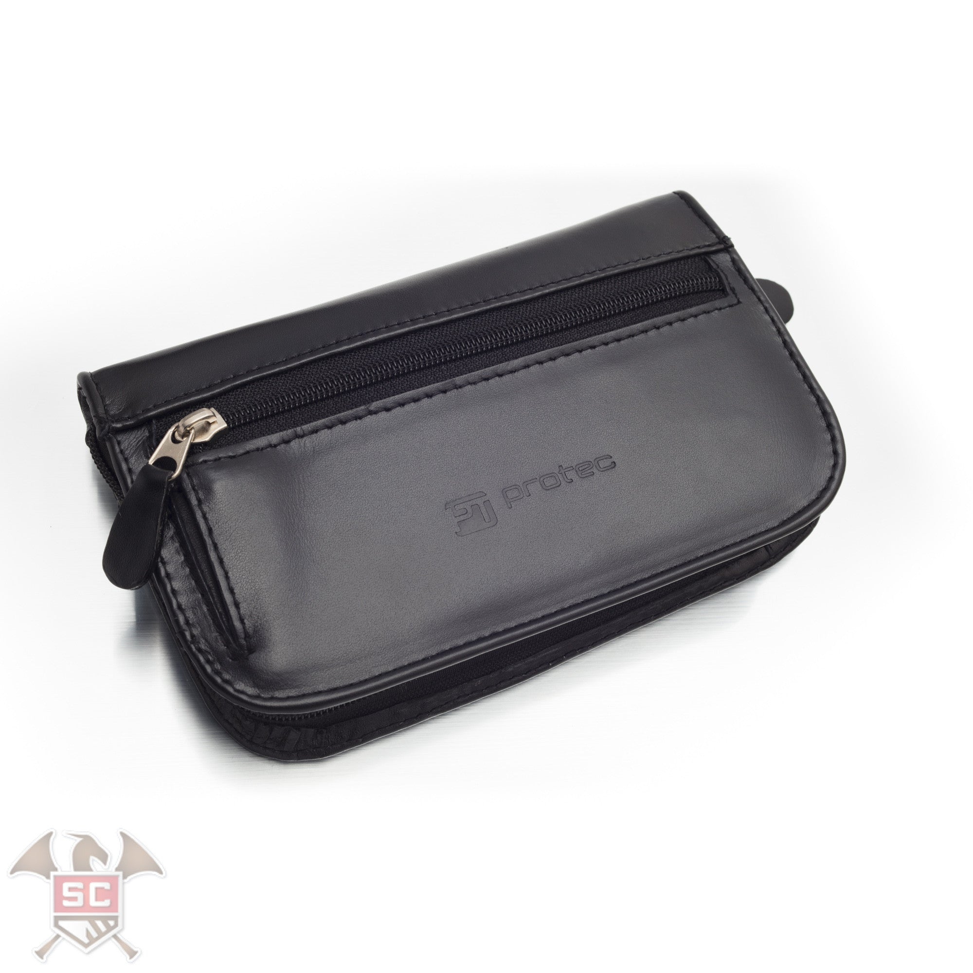 ProTec Multi Mouthpiece Leather Pouch L221