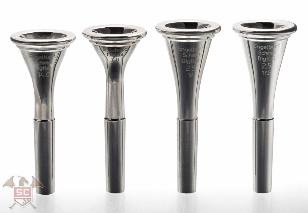 Engelbert Schmid Digital Mouthpiece Series for French Horn