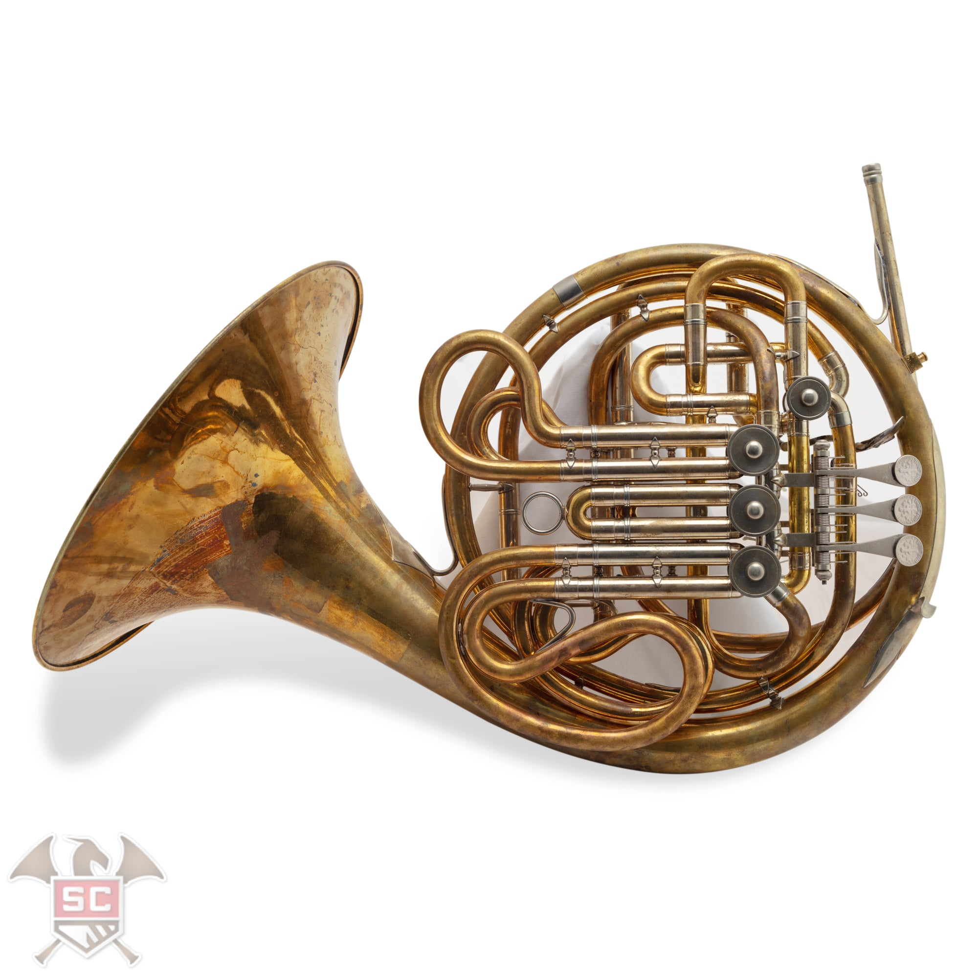 used yamaha 868 custom double horn