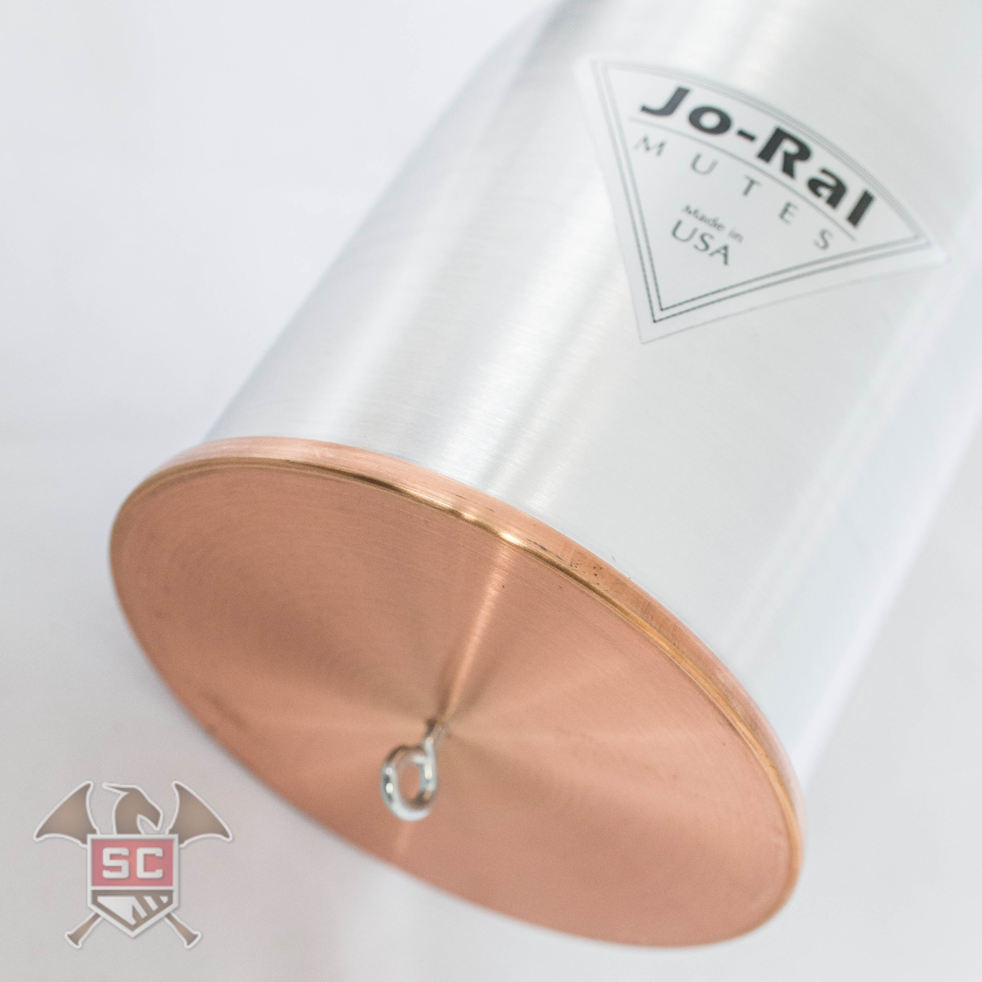 Jo Ral FR-AC aluminum top copper bottom straight mute for french horn