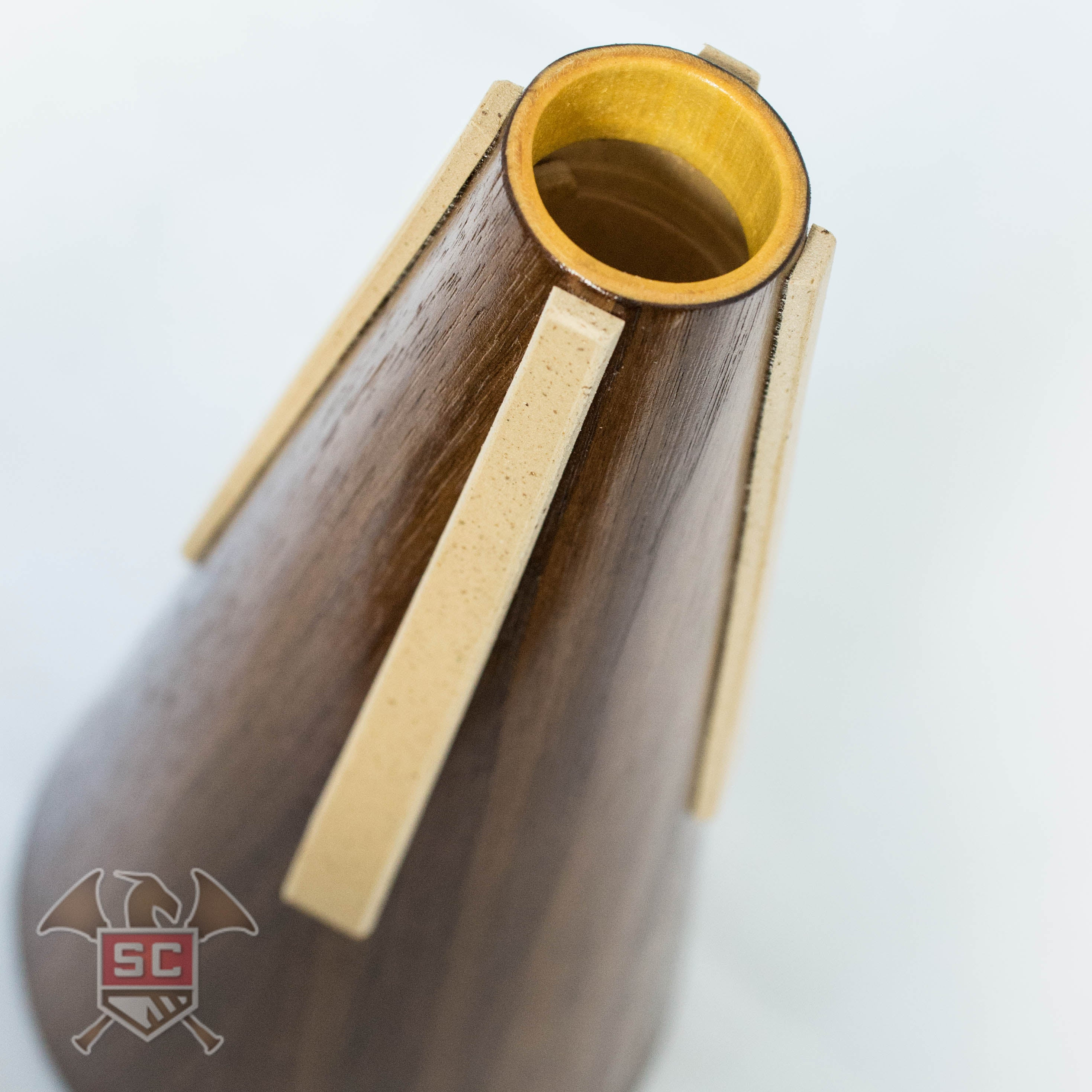 The Woodstop Tunable Straight Mute for French Horn - Walnut