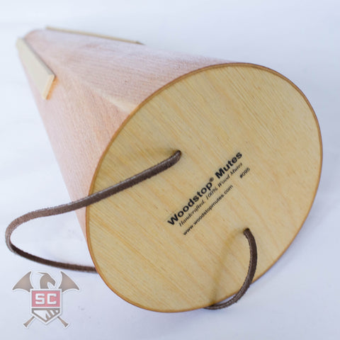The Woodstop Tunable Straight Mute for French Horn - Cherry