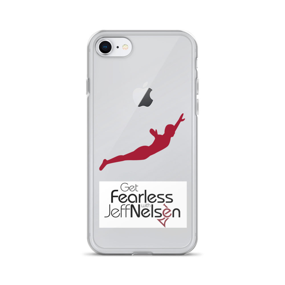 "Get ""Fearless"" with Jeff Nelsen iPhone Case"