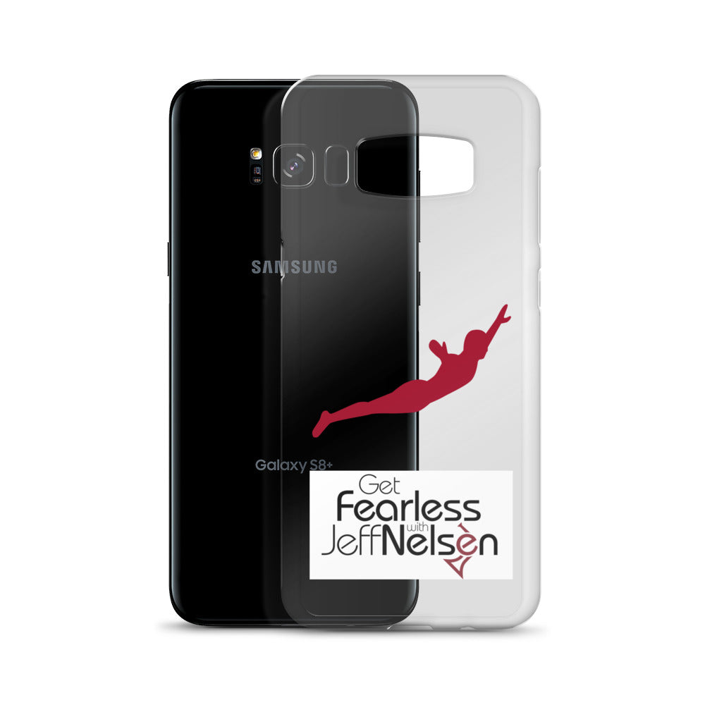 "Get ""Fearless"" with Jeff Nelsen - Samsung Phone Case"
