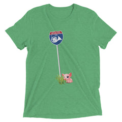 Interstate Horn with Coda, the little piggy - women's short sleeve t-shirt