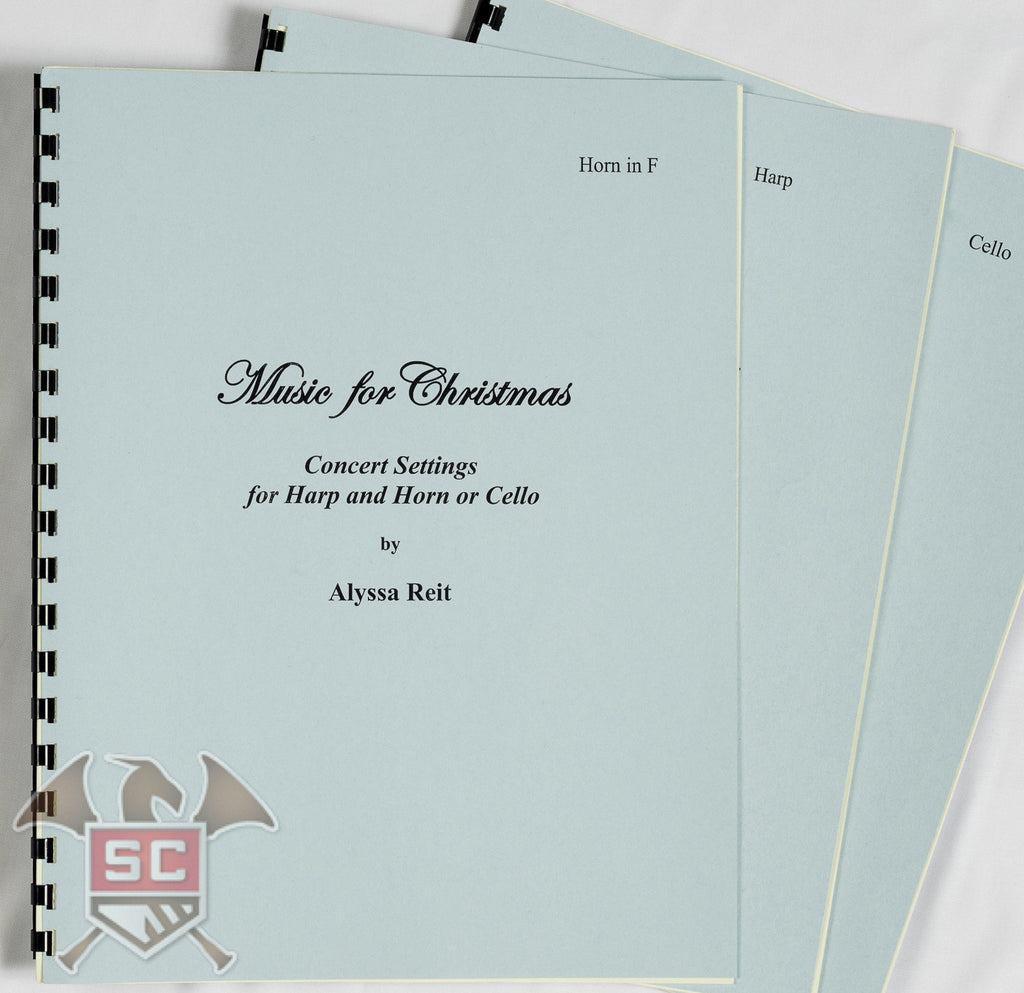 Music For Christmas: Concert Settings for Harp and Horn or Cello by Alyssa Reit