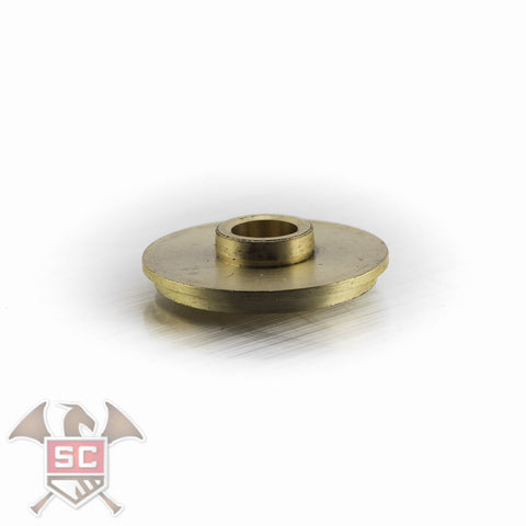 Engelbert Schmid stop arm pair for triple horn valves 4 and 5