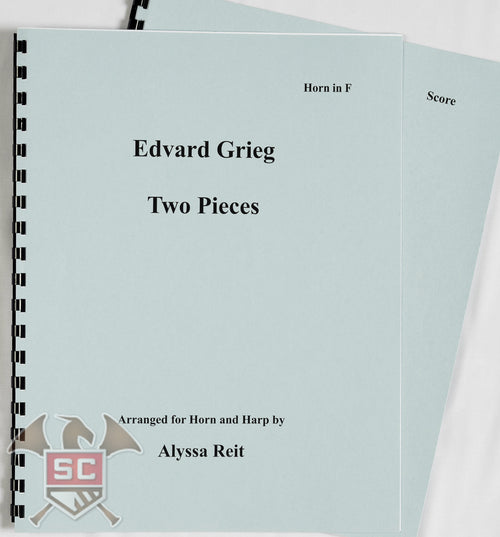 Edward Grieg: Two Pieces Arranged for Horn and Harp by Alyssa Reit
