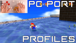 Mario 64 PC Port Profiles