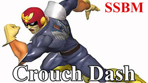 SSBM Perfect Crouch Dash