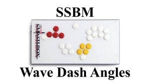 SSBM - Wave Dash Angles