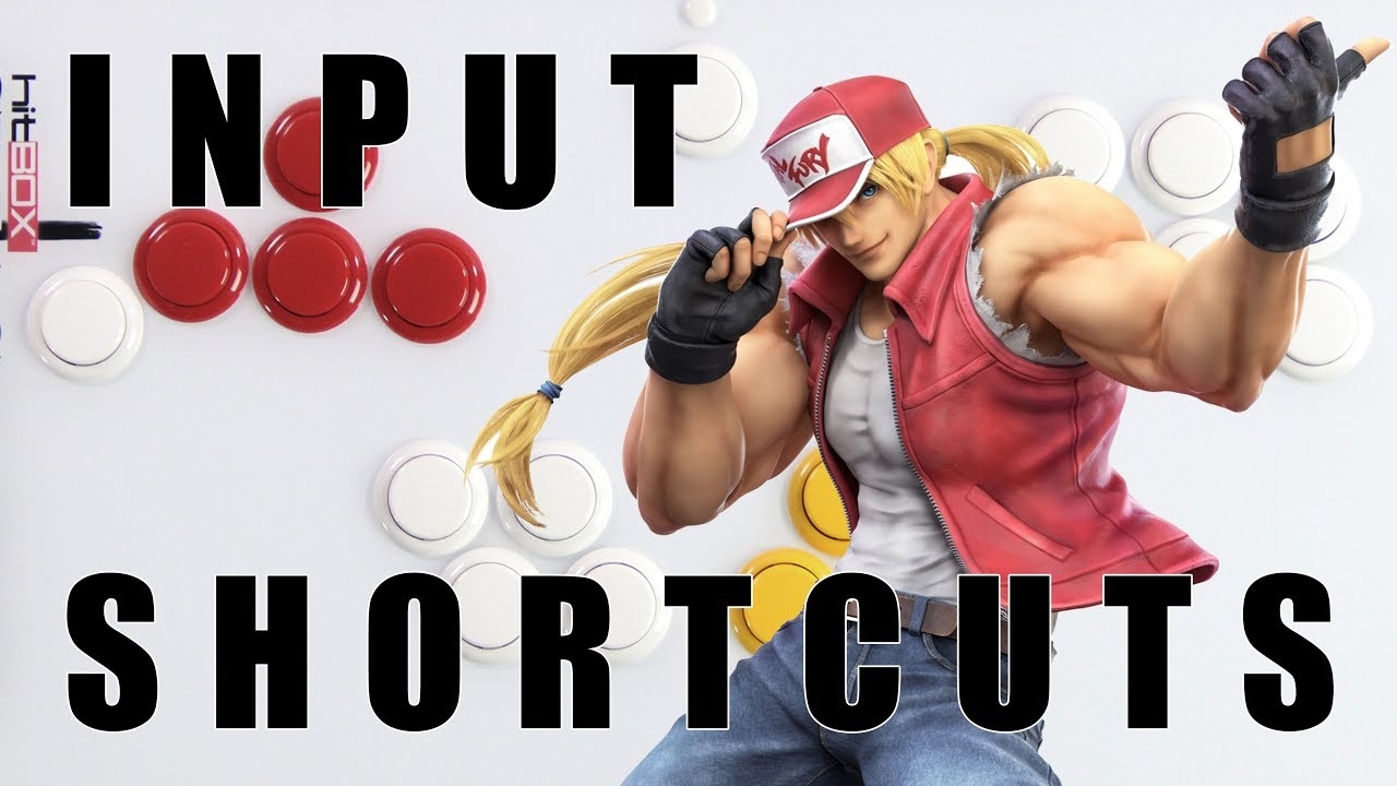 SSBU - Terry Bogard Motions, Input Shortcuts, and Coil