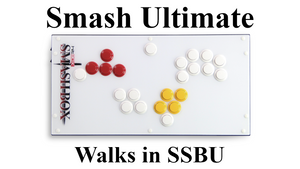Different Walks on Smash Box in SSBU