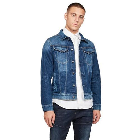 3301 Slim Jacket-Faded Stone