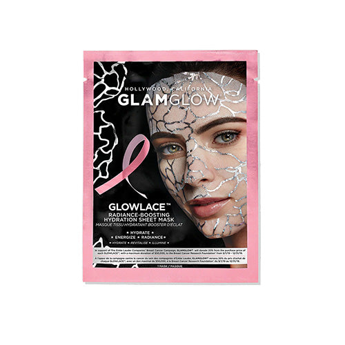 GLOWLACE ™ Radiance Boosting Hydration Sheet Mask - Breast Cancer Campaign Edition
