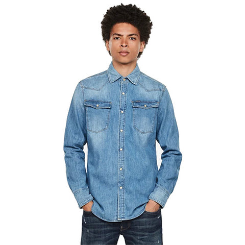 3301 Slim Shirt-Medium Aged