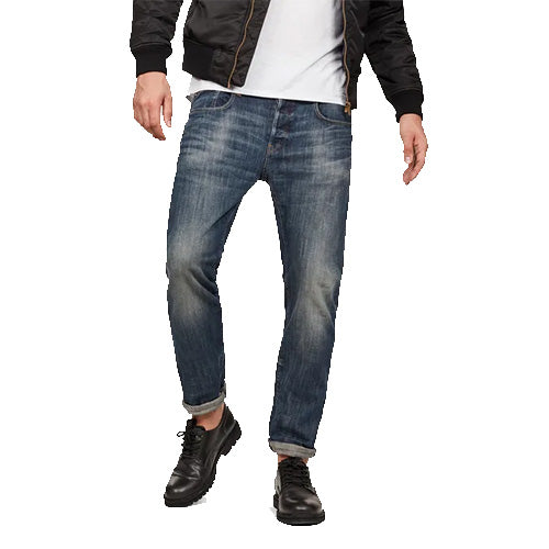 3301 Slim Jeans-Dark Aged Antic