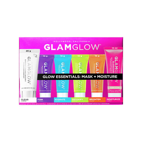 Glow Essentials Mask + Moisture Set