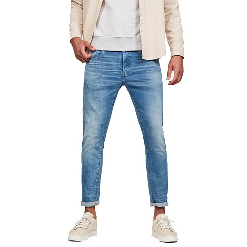 3301 Slim Jeans-Worn In Azure