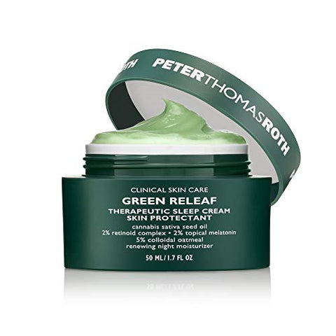 Green Releaf Therapeutic Sleep Cream Skin Protectant
