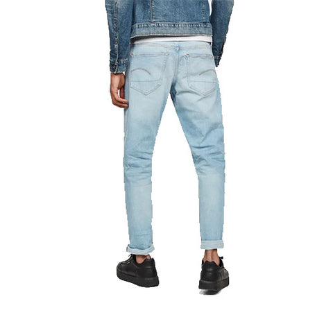 3301 Slim Jeans-Sun Faded Crystal Blue