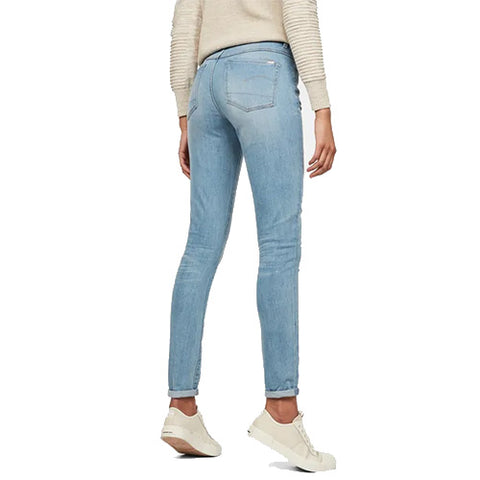 3301 High Waist Skinny Jeans-Light Aged