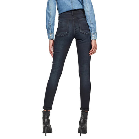 3301 High Waist Skinny Jeans-Dark Aged