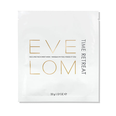 Time Retreat Face And Neck Sheet Mask